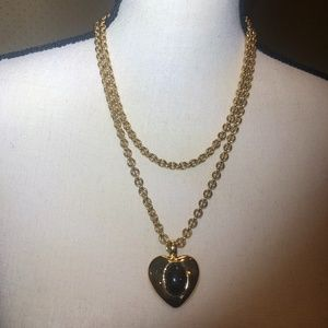 Jewelry - SCARAB HEART PENDANT AND NECKLACE